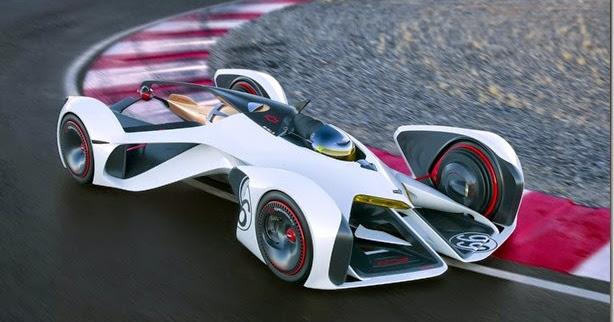 Conceito, Chevrolet Chaparral 2X Vision GT foge completamente da realidade