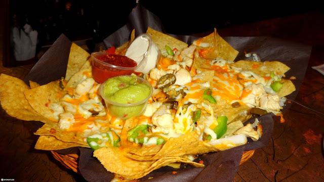 delicious nachos at Nuit Blanche 2014 in Toronto, Ontario, Canada