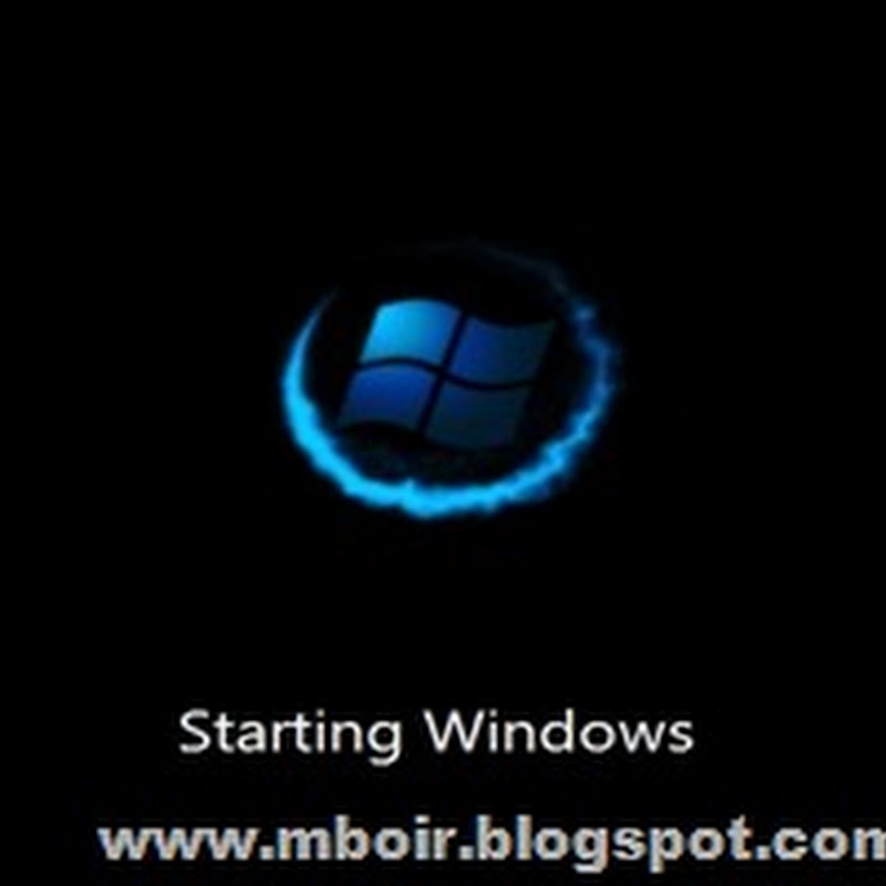 Download Blue, Green, Orange Boot Animation Win 7