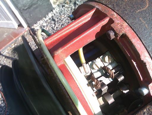 elmotor og pwm kontroller drivaksler kopling og gearkasse