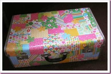 Recycled Suitcase 4