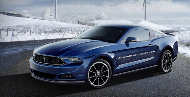 The New Faces of CarScoops 2015 Ford Mustang, Allegedly Tweaked to Resemble the Real Thing