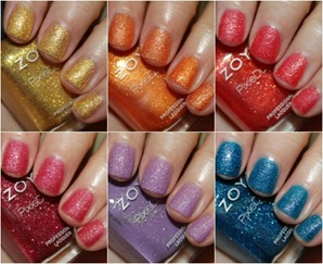 Zoya Pixiedust Texture Nail Polish Swatches Review All | ZonaFollow