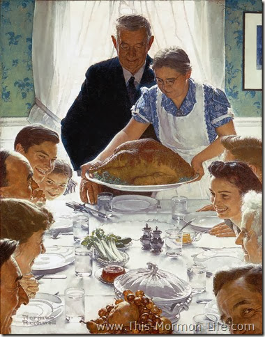 Thanksgiving Freedom From Want Rockwell