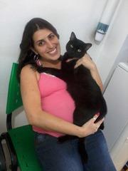 Eu, Tereza (na barriga) e meu Faísca