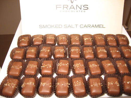 These savory-sweet caramels were delicious!