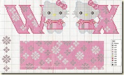 Ponto-Cruz-Abecedário-Hello-Kitty-W-X
