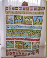 Animal quilt Sheila K 2