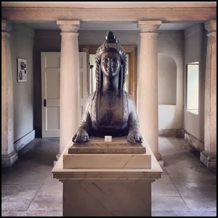 Sphinx in Chiswick House