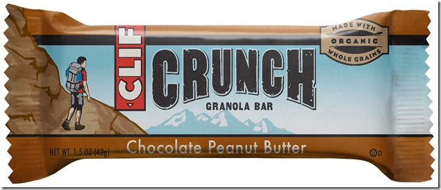 CLIF CRUNCH Chocolate Peanut Butter