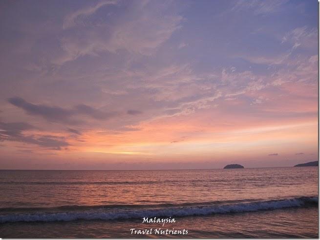 沙巴亞庇丹容亞路海灘夕陽 Perdana Park音樂水舞 (16)
