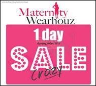 Maternity Wearhouz Crazy 1 Day Sale Branded Shopping Save Money EverydayOnSales