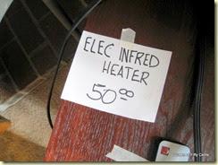 InFred heater