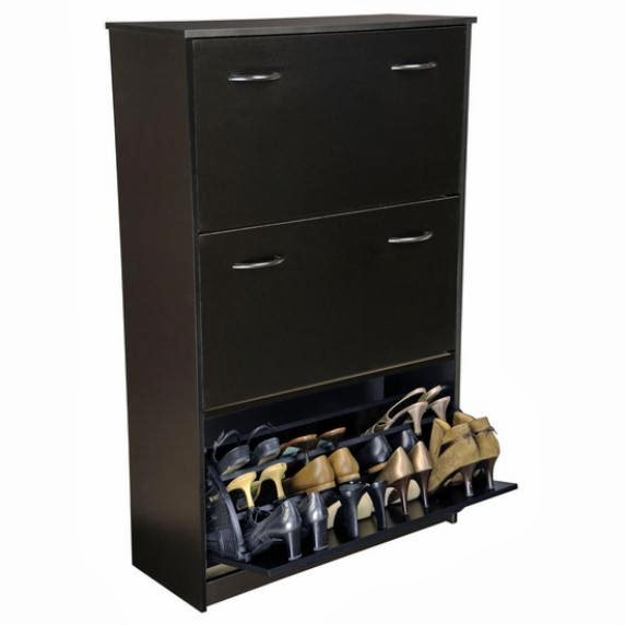 Wood Shoe Cabinet Shoe Storage Cabinet