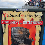 torture museum AD in Amsterdam, Noord Holland, Netherlands