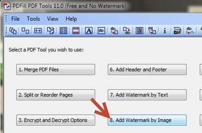 เพิ่มลายน้ำเป็นรูปในเอกสาร pdf