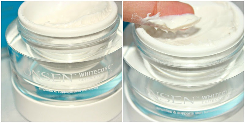 Onsen Secret WhiteCore Corrective Mask