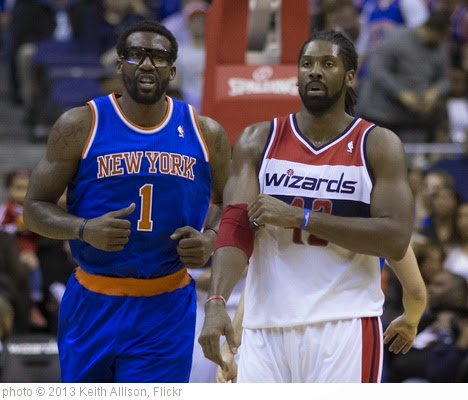 'Amar'e Stoudemire, Nene Hilario' photo (c) 2013, Keith Allison - license: https://creativecommons.org/licenses/by-sa/2.0/