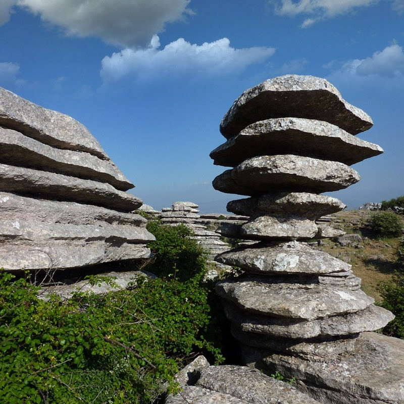 Unusual Rock Formations at Torcal de Antequera