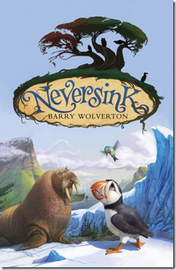 book cover of Neversink by Barry Wolverton