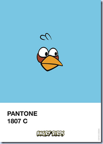 Pantone 1807 Angry Bird