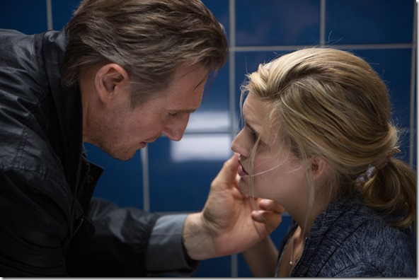 liam neeson and maggie grace in TAKEN3 (1)