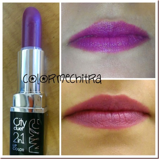 Chitra Pal NYC City Duet The Metropolitan Mauves Lipstick (2)