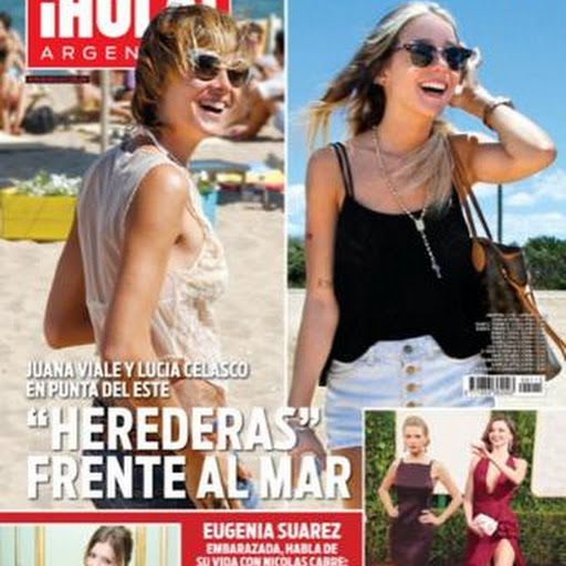 Juana viale y lucia celasco en revista hola argentina for Revistas del espectaculo