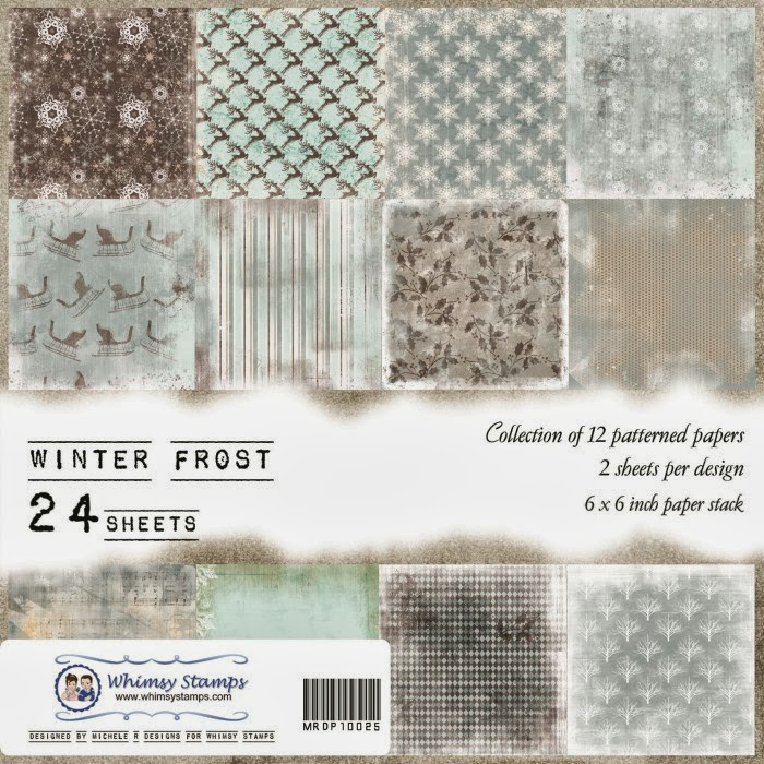 Winter Frost Front Sheet