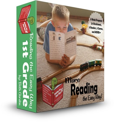 Reading the Easy Way 1st Grade - first grade reading