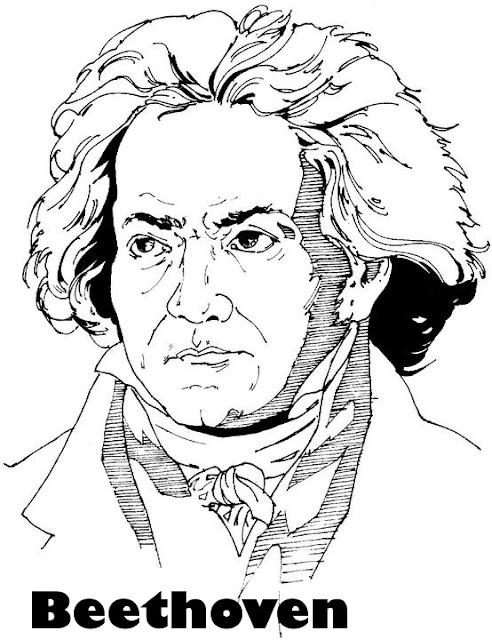 dibujos de musicos famosos para pintar