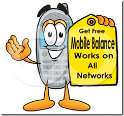 gET FREE MOBILE RECHARGE WITH A SINGLE SMS