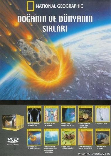 National Geographic - Doğanın Ve Dünyanın Sırları - 12 VCD Türkçe