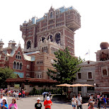 Tower Of Terror at the American Waterfront at Tokyo DisneySea in Urayasu, Tiba (Chiba) , Japan