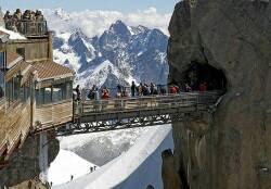 Aiguille du Midi.      Perancis