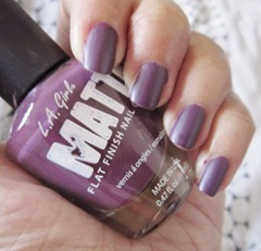 LA Girl Matte purple, bitsandtreats