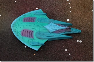 Aquan Prime Manta Class Battle Carrier -012