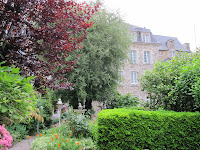 Garden of Hotel Le d\'Avaugour