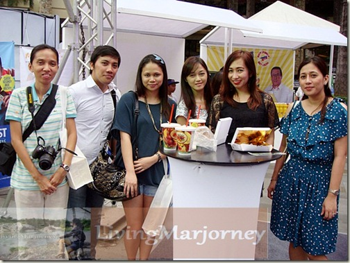 with fellow bloggers, Healthway Medical and PRC