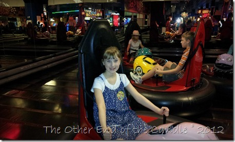 Bumper Cars at Incredible Pizza Company
