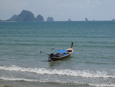 Ao Nang Beach view Thailand