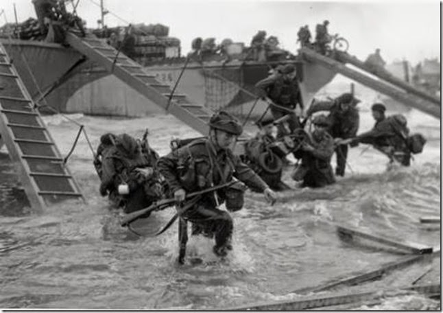 D-Day-facts-Landing-on-Beach