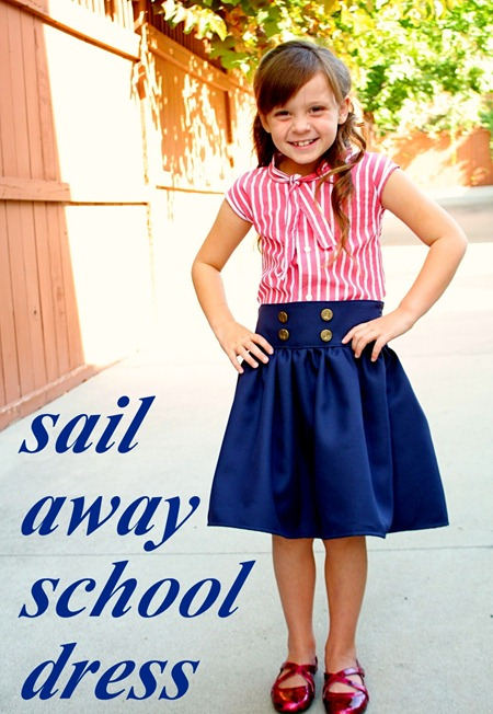 school dress tutorial