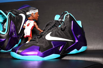 nike lebron 11 id production hornets 1 08 NIKEiD LeBron 11 Summit Lake Hornets Build by PPumper