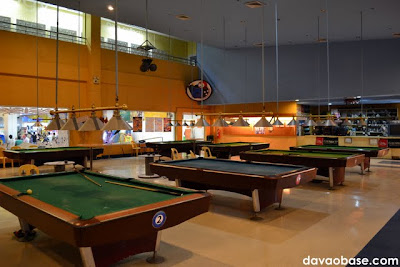 NCCC B3 houses an array of billiard tables, aside from bowling lanes