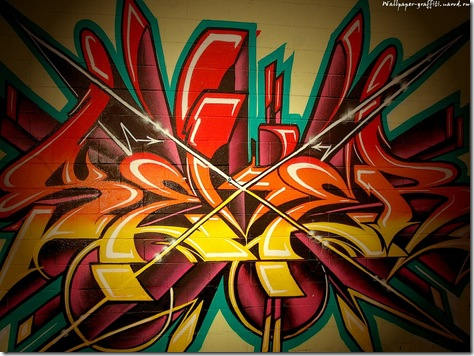 fundal desktop graffiti
