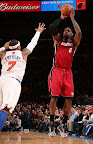 lebron james nba 130301 mia at nyk 30 LeBron Debuts Prism Xs As Miami Heat Win 13th Straight