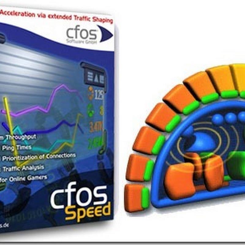 Download cFosSpeed & Key tăng tốc kết nối Internet