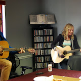 Ellie Holcomb & Dad-Brown Bannister visit WBFJ