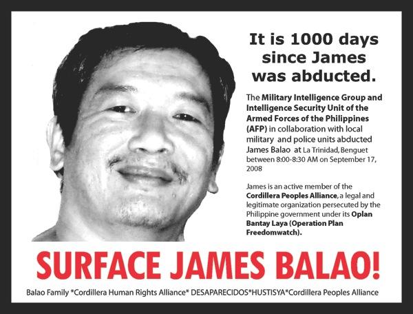 James front postcard
